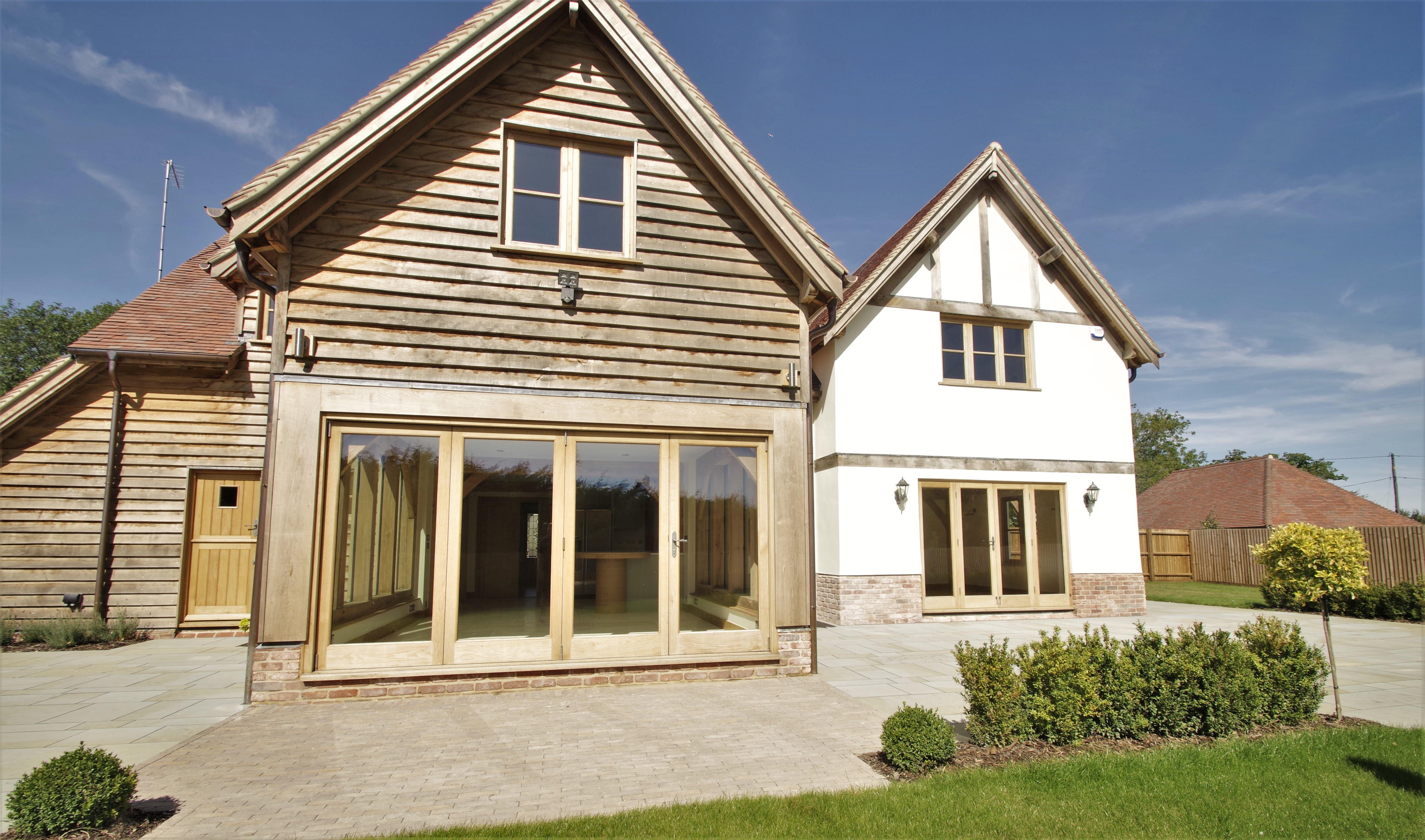 Oak Windows , Oak doors , Oak bifold doors , oak french doors , Oak wrights house